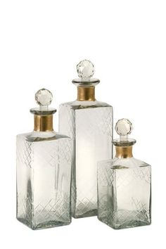 Imax Hampshire Etched Decanters by Imax on @HauteLook