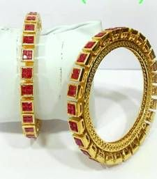 Buy BEAUTIFUL ETHNIC FINE RUBY BANGLE bangles-and-bracelet online