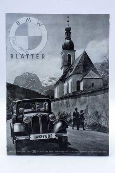 Zeitschrift / Katalog ¨BMW Blätter¨ Heft 23 Juni 1935 / BMW / Oldtimer / D in…