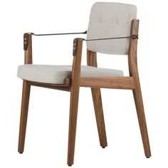 Capo Dining Armchair | From a unique collection of antique and modern dining room chairs at https://www.1stdibs.com/furniture/seating/dining-room-chairs/