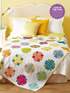 Easy Addition by Brenda Ratliff - Quilts and More, Spring 2016