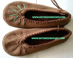como hacer las disminuciones crochet de capellada balerina