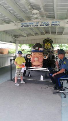 Otto the talking car at state fair 2015