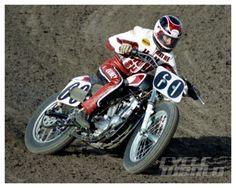 Wayne Rainey race action shot