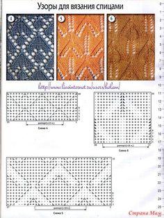 Diy Crafts Knitting, Easy Knitting, Loom Knitting, Knitting Projects, Knitting Needles, Knitting Charts, Baby Knitting Patterns, Knitting Stitches, Lace Patterns