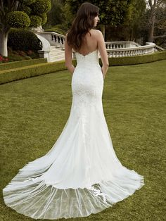 2016 Blue by Enzoani, Indio, Back View