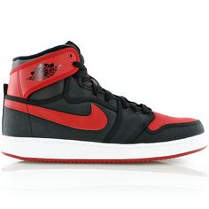 jordan AJ1 KO HIGH OG BLACK/VARSITY RED-WHITE