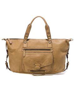 Abaco 'Odelia' Leather Satchel
