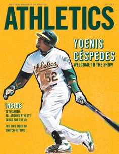 2012 Issue 3: Yoenis Céspedes