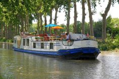 Cruise along the Canal du Midi in a new deluxe hotel barge