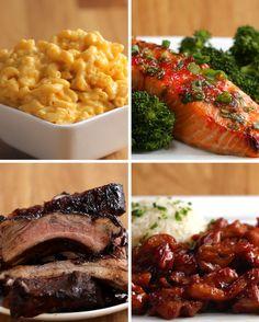 Quatro opções de jantar com apenas três ingredientes