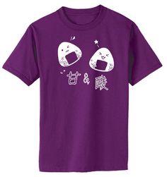 Onigiri T-shirt - Japanese rice balls kawaii food cute tee anime otaku kanji shirt