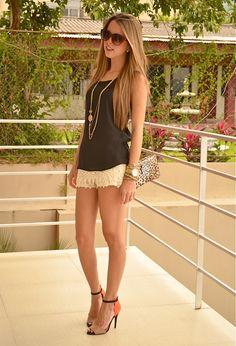 Crochet shorts <3
