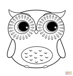 for kids free owl coloring page printable owl coloring pages for kids cute getcoloringpagescom cute owl coloring page owl coloring pages getcoloringpagescom - Printable Owl Pictures