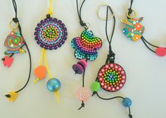 Hand bag charms  and keychains by klio1961, via Flickr