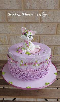 Kitten cake :-)  by Bistra Dean