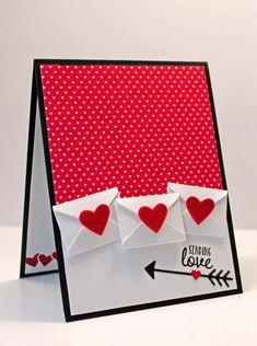 """Unique typographique personnalisé /""""Stamp/"""" st-valentin carte//Cadeau"""