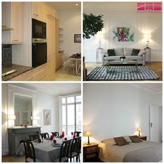Have a look at this #beautifully #furnished #Paris #rental in the #17thArrondissement.