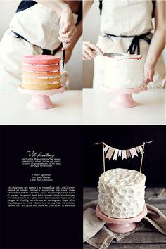 gradient cake