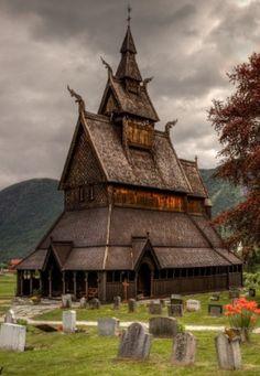 Hopperstad Stave Church (Norwegian: Hopperstad stavkyrkje)