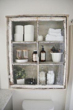 110 spectacular farmhouse bathroom decor ideas (51)