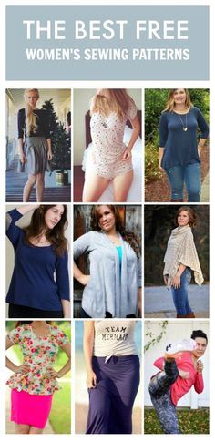 A list of the best women's pdf sewing patterns for your wardrobe essentials and how to get them