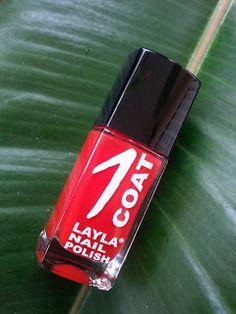 il blog di Ivana: Layla Cosmetics: smalto OneCoat n. 20 (swatches)