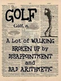 What does golf mean to you? More golf thoughts at #lorisgolfshoppe