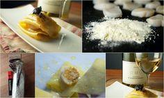 une version chic de lasagne : des pâtes fraîches aux pétoncles grillés accompagnées d'une belle sauce au beurre blanc