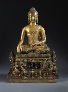 In the Land of Snow: Buddhist Art of the Himalayas Norton Simon Museum: Kashmir Bronze