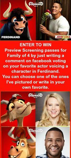 #PhillyCalendar Still time to enter T&T's  @FerdinandMovie  screening passes for 4 contest!   @20thCenturyFox