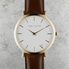 The Fifth Watches New York Classic // Tribeca - Polished Rose Gold Casing, 316L Stainless Steel Bezel, Hardened Mineral Crystal Lens, Japanese Quartz Movement, Water Resistant 5ATM, Face Diameter 41.0mm, Case Thickness 6.0mm