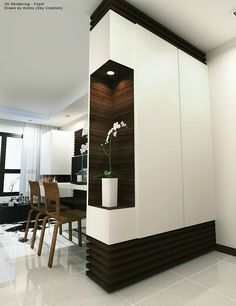 Marvelous Useful Tips: Room Divider With Tv Entertainment Center room divider cabinet storage ideas.Portable Room Divider Wall room divider furniture how to build. Fabric Room Dividers, Wooden Room Dividers, Bamboo Room Divider, Room Divider Walls, Bedroom Divider, Drawer Dividers, Bedroom Wall, Bedroom Ideas, Living Room Partition