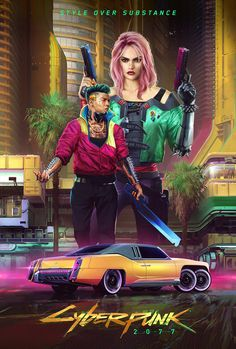 View an image titled 'Kitsch Style Art' in our Cyberpunk 2077 art gallery featuring official character designs, concept art, and promo pictures. Cyberpunk 2020, Arte Cyberpunk, Cyberpunk Games, Cyberpunk Girl, Cyberpunk Aesthetic, Cyberpunk Tattoo, Cyberpunk Fashion, Kitsch, Arte Sci Fi