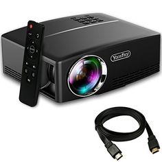 "UO Smart Beam Laser, FDA Approved Class1 Eye Safe Laser, Focus Free, 150"", 120min, 720P, Wi-Fi, Original Cube, Portable Mini Projector - Exclusive Authorized Dealer KDCUSA"