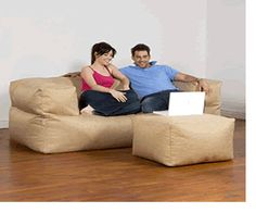 Ideas to Clean Bean Bag Couch Huge Bean Bag, Giant Bean Bags, Cool Bean Bags, Bean Bag Couch, Sofas, Couches, Leather Bean Bag, Velvet Furniture, Sofa Inspiration