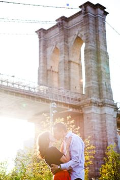 Beautiful Brooklyn engagement session.