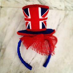 Handmade Custom Jubilee Fascinator for Babies & Adults. £25.00, via Etsy.