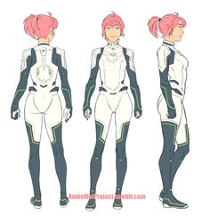 Sketchy color turnaround for Annie and the new tweaks to her design! EDIT: Cleaned up the sketch Character Model Sheet, Character Poses, Female Character Design, Character Modeling, Character Design References, Character Design Inspiration, Character Concept, Character Art, Concept Art