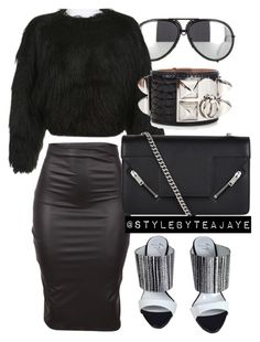"""""""Untitled #1806"""" by stylebyteajaye ❤ liked on Polyvore featuring Porsche…"""
