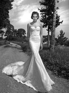 vestido estilo sirena