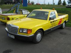 Special cars: Mercedes-Benz W126 Pick-up