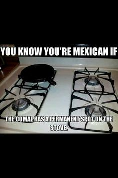 Because you know the RIGHT way to heat a tortilla is on a comal. i know too many mexicans.