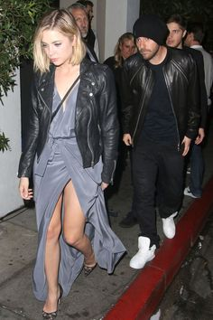 Ashley Benson and boyfriend Ryan Good leave Chateau Marmont after attending a Grammy after-party there on Feb. 8, 2015, in Los Angeles.  -Cosmopolitan.com