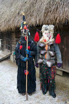 Winter Solstice, Christmas in Maramures Romania People, Transylvania Romania, City People, Folk Clothing, Circus Art, Winter Solstice, Old Pictures, Europe, Moldova