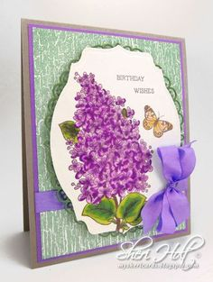 JustRite CHAW Release Lilac Blossoms | JustRite Papercraft Inspiration Blog