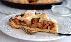 Kruche ciasto z jabłkami i cynamonem Apple Pie, Food, Essen, Meals, Yemek, Apple Pie Cake, Eten, Apple Pies