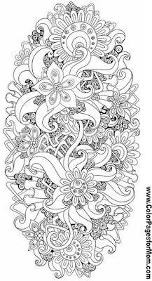 Kiedy mama nie śpi: DIY - 22 Darmowe ilustracje do kolorowania.