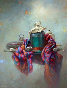 Painting by Edward Szutter. Surrealistic Still Life Still Life Artists, Still Life Images, Interactive Art, Realistic Paintings, Painting Still Life, Still Life Photography, Pictures To Paint, Traditional Art, Lovers Art