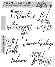 christmas!!! Tim holtz stampers anonymous 2014